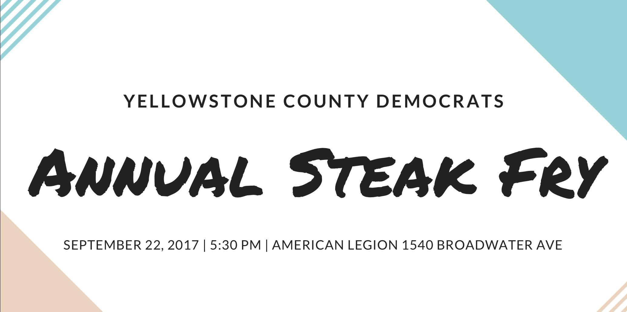 Annual Steak Fry 2017